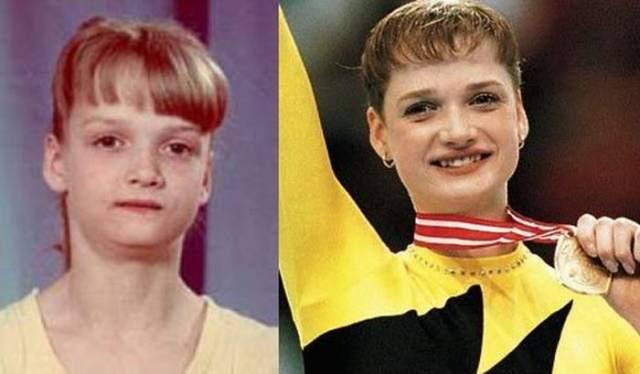 Светлана Хоркина стала членом сборной команды России по спортивной гимнастике уже в 13 лет.