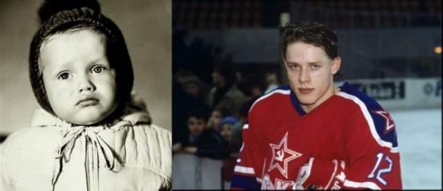 Павел Буре родился в спортивной семье и начинал играть в детской команде ЦСКА с шести лет.