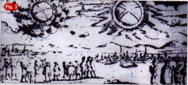 Наблюдение НЛО над Гамбургом 4 ноября 1697.