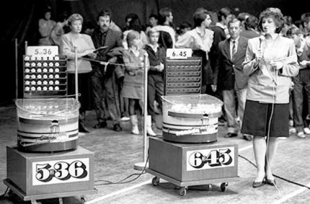 """За все годы существования лотереи """"Спортлото"""" все шесть из 49 чисел были отгаданы всего три раза."""