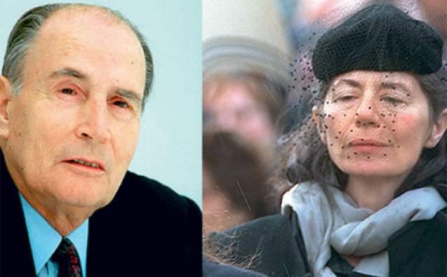 Анн Пенжо, любовница Франсуа Миттерана. Президент Франции был диким бабником, но известно об этом стало лишь после его смерти, когда на похороны заявились его многочисленные дамы сердца.