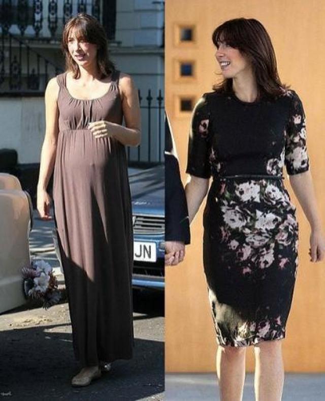 Саманта Кэмерон. Через два месяца после рождения ребенка актриса вернула былую стройность.