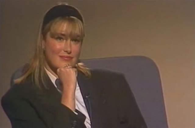 А на этом фото - брокер Российской товарно-сырьевой биржи Мария Шукшина в 1992 году.