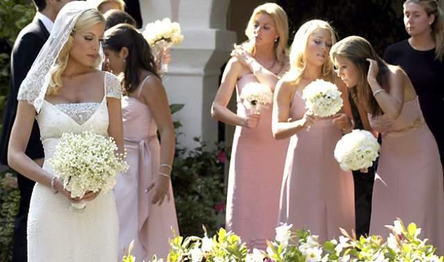 Большинство средств ушло на питание и охрану, платье невесты Badgley Mischka обошлось в $50 000, а цветы для украшения пространства - в $100 000. Супруги развелись в 2006 году из-за измены Тори .