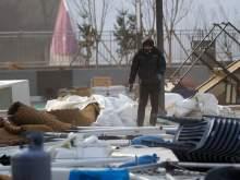 На олимпийский Пхёнчхан обрушился ураган, пострадали люди