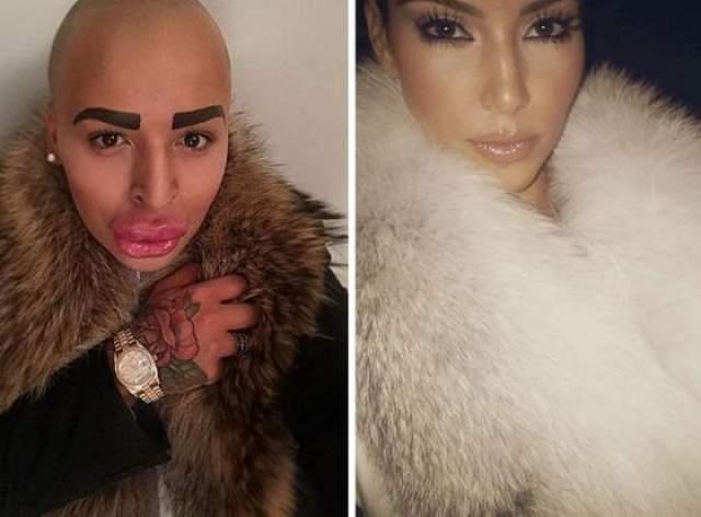 Джордан Джеймс Парк. Молодой британский визажист - жертва неуемного желания стать похожим на Ким Кардашьян. Парень уже потратил $150 000 на походы к пластическому хирургу и не намерен останавливаться.