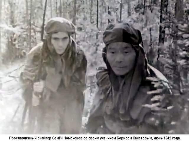 """Немцы наградили его прозвищем """"Таёжный шаман"""". За время войны Семён был ранен 8 раз, а также перенёс 2 контузии. После войны её Герой работал в совхозе, а умер 15 июля 1973 года."""