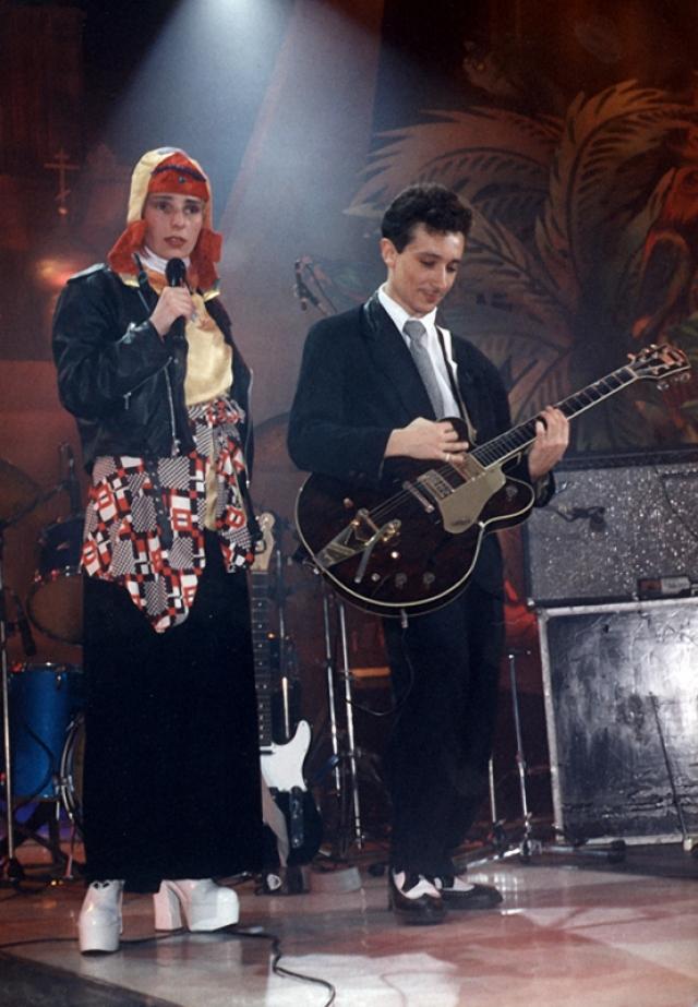 Жанна Агузарова и Евгений Хавтан.