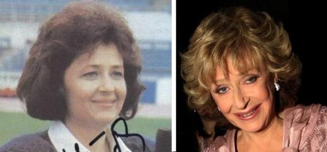 """Регина Дубовицкая в конце 80-х создает передачу """"Аншлаг"""", бессменной ведущей которой и является по сей день."""