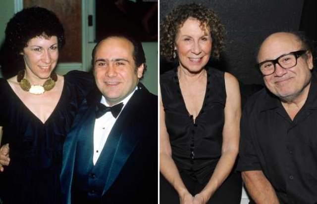 Дэнни Де Вито и Реа Перлман, 36 лет в браке и 48 лет вместе.