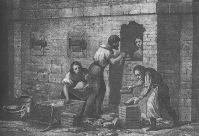 В средневековье данный тип казни также практиковался.