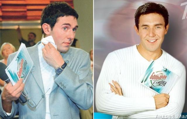 Андрей Малахов. Ведущий появился на ТВ в середине 90-х, и совсем не был похож на нынешнюю телезвезду.