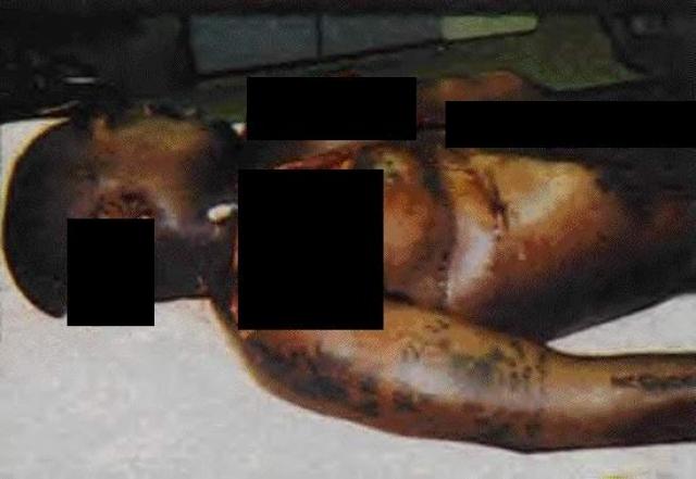 Это одно из последних фото уже умершего музыканта. Позже вокруг убийства ходило множество слухов.