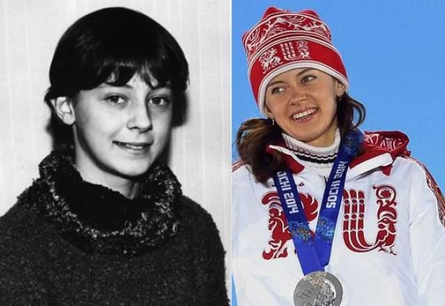 Ольга Вилухина с 10 лет занималась лыжными гонками, а через шесть лет по совету тренера решила перейти в биатлон.