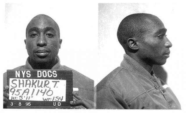 Тупак Шакур. Рэпер даже издал альбом, находясь в тюрьме, а также женился на Кейше Моррис, с которой развелся сразу после выхода из заключения.