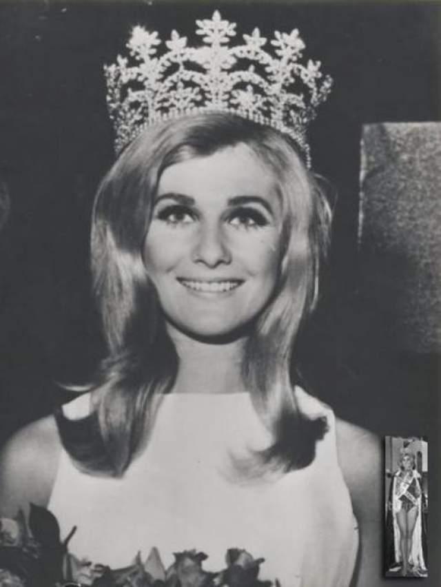 Пенелопа Пламмер (Австралия) - Мисс мира 1968.