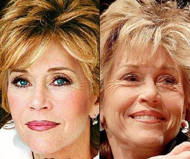 Джейн Фонда. В свои 79 лет актриса заслуживает только похвалы.