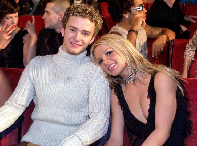 Джастин Тимберлейк. Роман Джастина и Бритни Спирс завязался в 1999 году — именно тогда юная певица обрела популярность и стала настоящей поп-звездой.