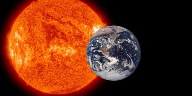 Удаление Земли от Солнца. Среднее расстояние от Земли до Солнца - 1,496×1011 метра. Раньше считалось, что это расстояние неизменно, но еще в 2004 году российские астрономы обнаружили, что Земля постепенно удаляется от Солнца примерно на 15 см в год.