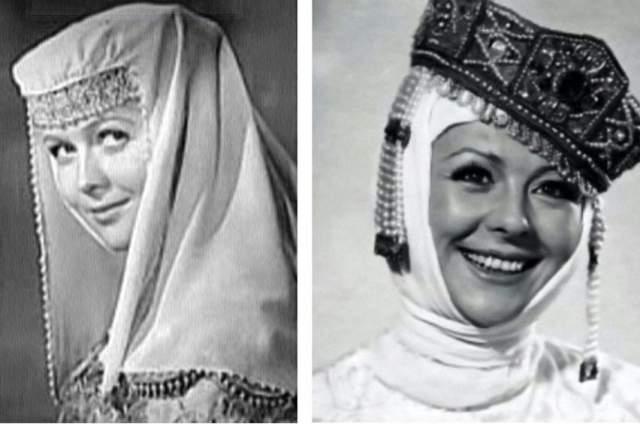Многие из актрис пытались получить сразу две женские роли - Зиночки и царицы Марфы Васильевны. На фото - пробы на роль царицы Натальи Гундаревой и Натальи Селезневойю