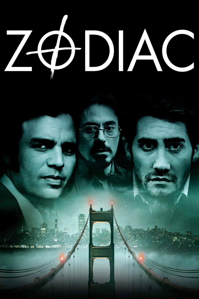 """"""" Зодиак """" (2007). Фильм Дэвида Финчера основан на событиях, происходивших в Сан-Франциско на протяжении нескольких лет. Маньяк так и не был найден, в реальности его так и называли - Зодиаком."""