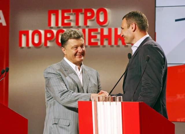 В 2014 году Кличко до последнего момента собирался выдвигать свою кандидатуру на выборы президента страны, но в итоге отказался, поддержав нынешнего президента Петра Порошенко. Вместо этого он принял участие в выборах мэра Киева, на которых и победил.