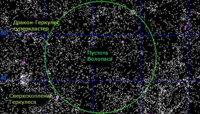 """Свет может проходить сквозь такие участки, хотя ученые считают, что он заряжается некой формой """"темной энергии"""". Но что же это на самом деле, никому не известно."""