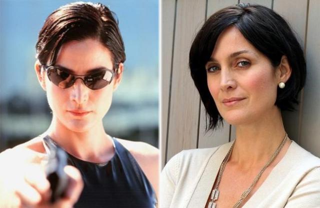 """Кэрри-Энн Мосс. Актриса стала звездой одной роли, после """"Матрицы"""" снимается в основном в сериалах и эпизодах."""