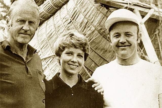 На телевидение Сенкевича позвали в 1973 году, при этом работа не стала помехой его путешествиям. Он даже принял участие в первой советской экспедиции на Эверест - тогда ему было 50 лет.