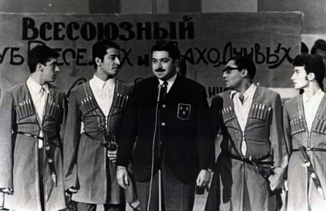 """Юлий Гусман. Режиссер также играл в КВН, будучи капитаном команды """"Парни из Баку"""" с 1964 по 1971 годы."""