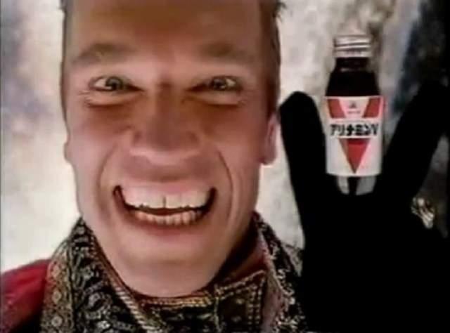 Глядя на лицо Железного Анри, сложно не поверить в эффект напитка.