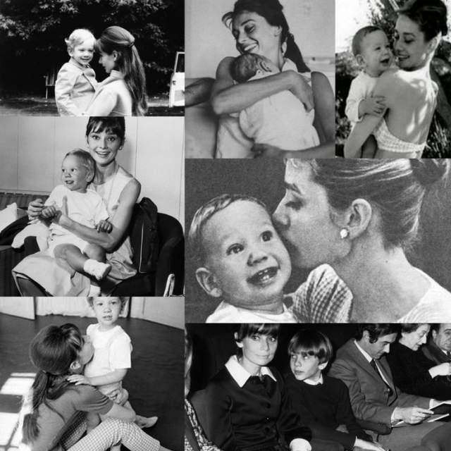 Одри Хепберн. В первом браке голливудская дива родила сына, получившего имя Шон Хепберн Феррер.