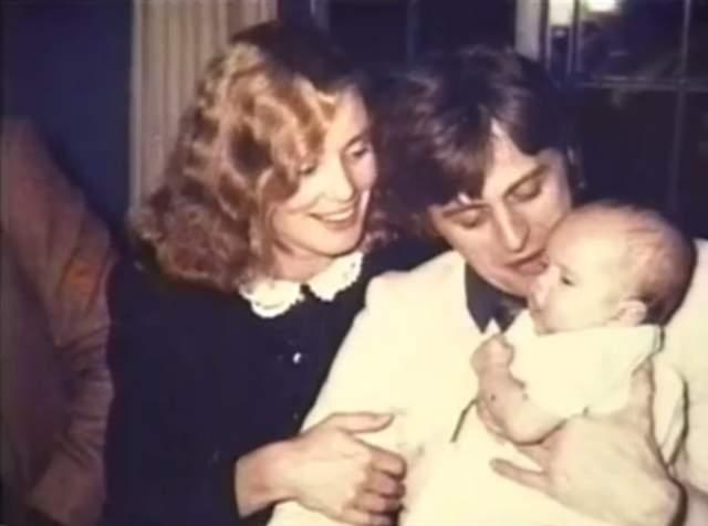 На фото Барышников с Джессикой Лэнг и их дочерью Александрой, 1981