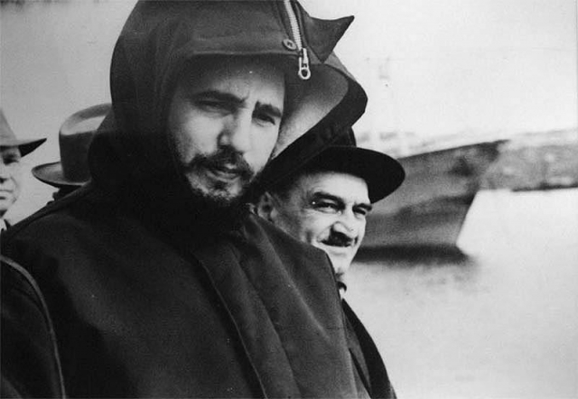 Маршрут Фиделя Кастро по СССР, точные сроки пребывания в том или ином городе были засекречены.