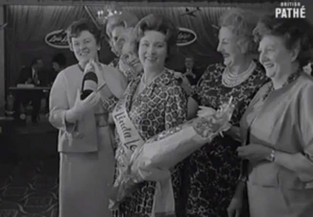 """Мисс """"Толстушка"""". В 1960 году, в Лондоне проводился конкурс для полных дам. Интересно, что победительница конкурса 11 годами ранее завоевала титул """"Мисс Шотландия""""."""