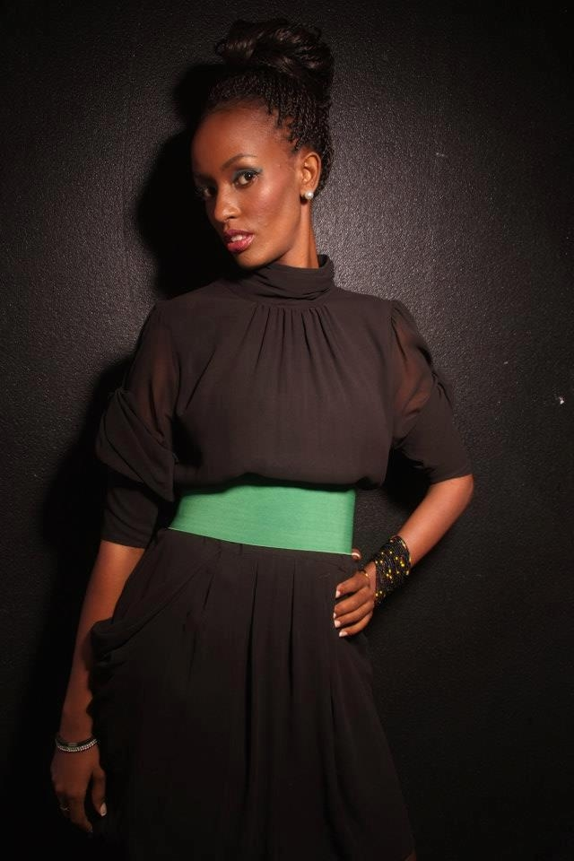 "Лайна Кеза (29 лет). ""Мисс Африку"" зарезали в августе 2013 года."