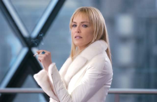 """Шэрон Стоун. Главная героиня """"Основного инстинкта"""" (1992) снималась во второй части картины (2006), и тогда она выжала все возможное из контракта с продюсерами."""
