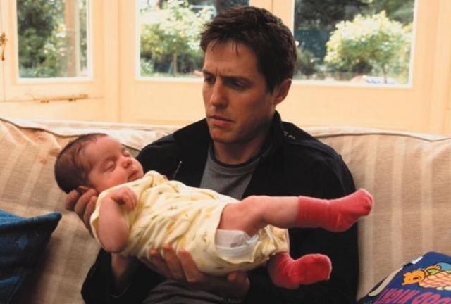 Когда актеру исполнилось 55 лет, его возлюбленная, шведский телепродюсер Анна Эберштейн родила малыша, ставшего четвертым для артиста. Хью и Анна уже воспитывали трехлетнего сына Джона Мунго.