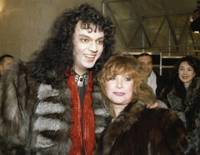 Филипп Киркоров. Будущий король российской поп-музыки очень долго добивался взаимности от примадонны.