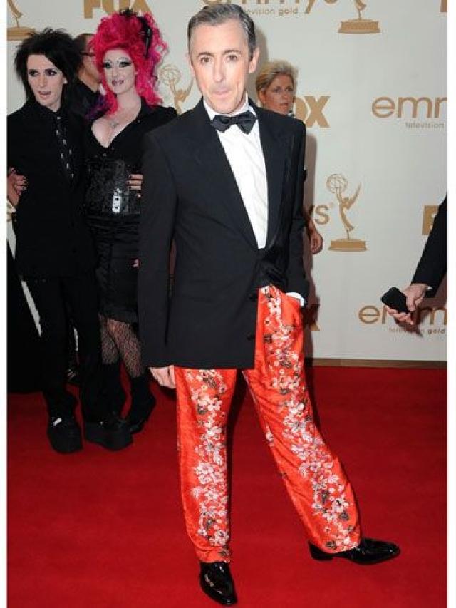 Актер Алан Камминг решил, что его будут снимать только выше пояса.