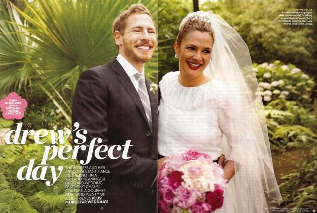В третий раз замуж актриса вышла в 2012 году за арт-консультанта Уилла Копельмана , который младше жены на три года. Через три месяца после свадьбы у супругов родилась дочь Олив, а еще через два года - дочь Фрэнки.