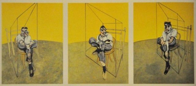 "$142 400 000. ""Три этюда Люсьена Фрейда"" , Фрэнсис Бэкон, 1969 год."