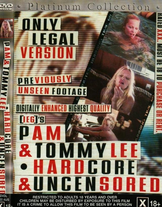 """Памела Андерсон. Звезда """"Плейбоя"""" и ее тогдашний муж Томми Ли стали жертвами секс-скандала, разразившегося вокруг украденной у них интимнйо видео-записи."""