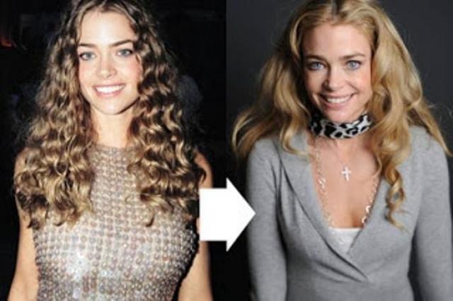 Позже, как это выяснили журналисты, актриса ложилась под нож дважды, чтобы получить не слишком большую и не слишком маленькую грудь.