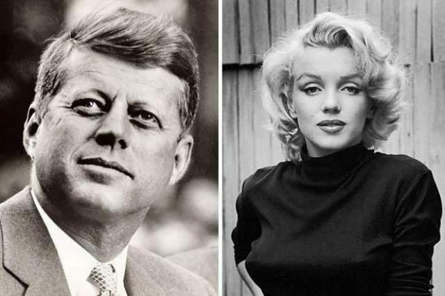 Мерилин Монро, любовница Джона Кеннеди. Они познакомились в 1960 году на курорте, а спустя год у них возникли близкие отношения. Но в Белый дом известная актриса могла приехать только по официальному приглашению.
