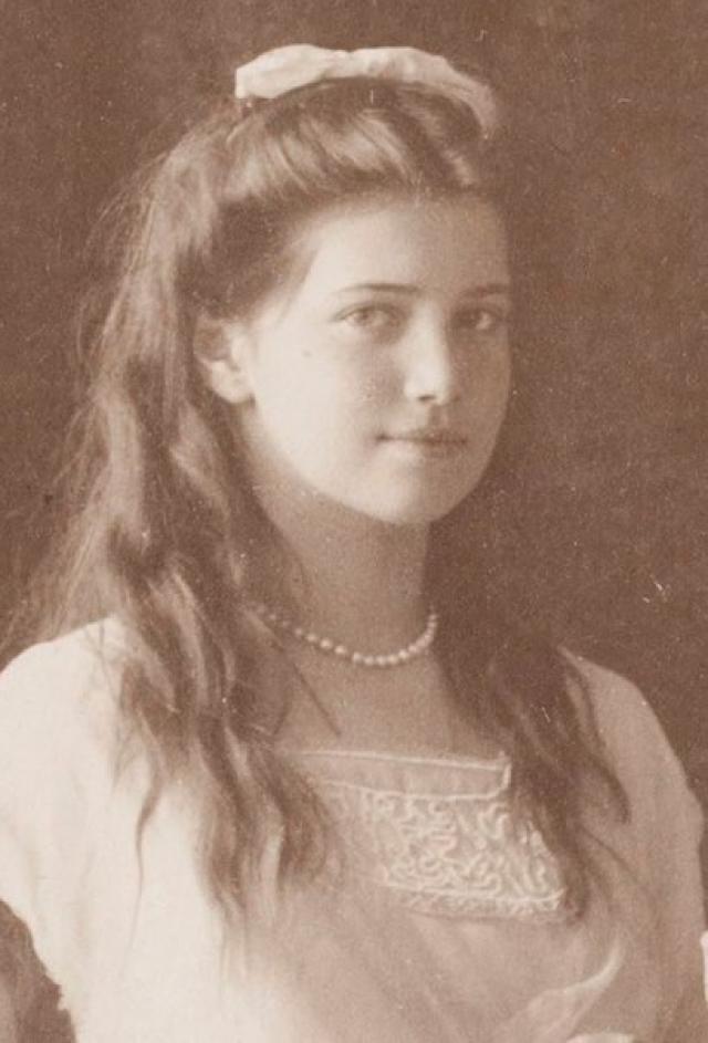 """Историю о """"бабушке Алине"""" рассказал один из ее соседей, помнивший ее мальчиком - Луис Дюваль, в настоящее время ищущий доказательств своему предположению. На фото - княжна Мария"""