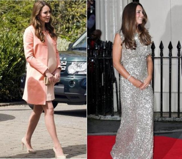 Герцогиня Кэтрин Кембриджская. Восемь недель спустя после родов фигура супруги принца Уильяма способна вызвать зависть даже у нерожавших женщин.