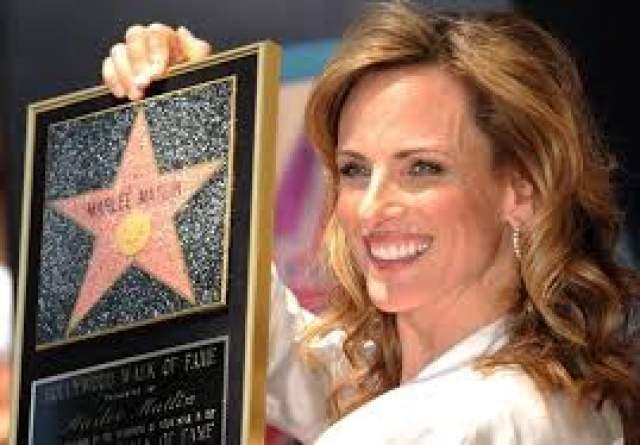 """За карьерные достижения Мэтлин была удостоена собственной звезды на Голливудской """"Аллее славы""""."""