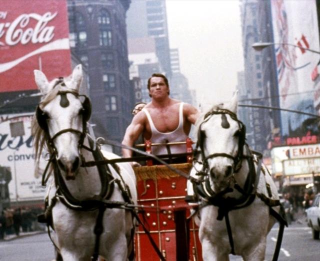 """Первым фильмом Арни стал """"Геркулес в Нью-Йорке"""". Любопытно, что в титрах он был представлен не под собственной фамилией, а под псевдонимом Арнольд Стронг."""