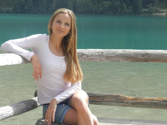 Юлия Журавок. Перспективная 22-летняя биатлонистка из Украины обладает титулом чемпионки Европы и золотом чемпионата мира по юниорам.